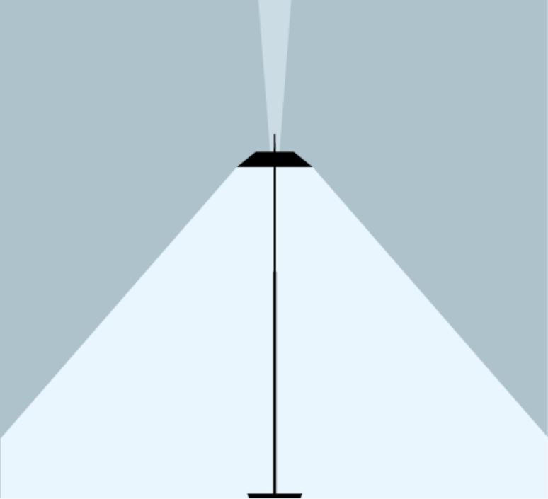 Mayfair diego fortunato lampadaire floor light  vibia 5515 93   design signed nedgis 84000 product