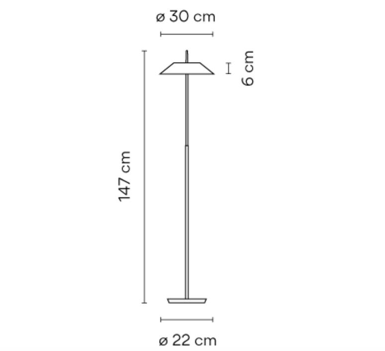 Mayfair diego fortunato lampadaire floor light  vibia 5515 18  design signed nedgis 84013 product