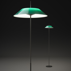 Mayfair diego fortunato lampadaire floor light  vibia 5510 07  design signed nedgis 83988 thumb