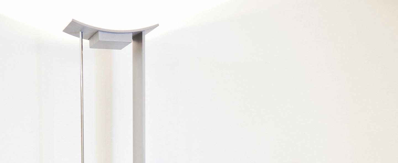 Lampadaire mcp led chrome h183cm lumen center italia normal