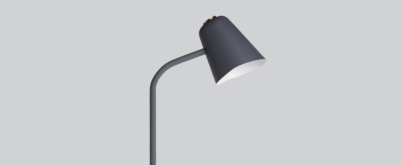 Lampadaire me gris h130cm northern lighting normal