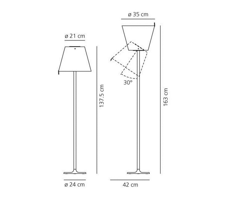 Melampo adrien gardere lampe a poser table lamp  artemide 0315020a  design signed 79556 product