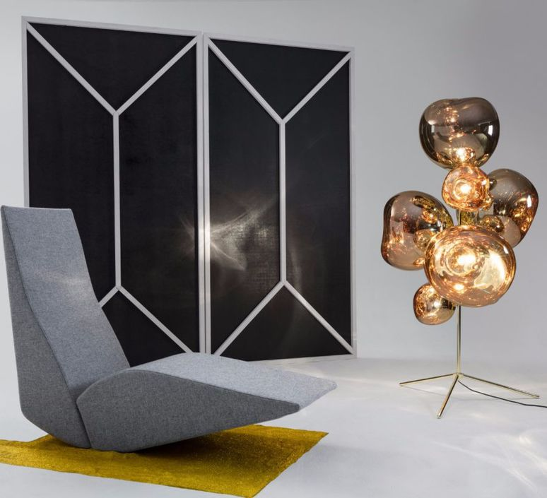 Melt tom dixon lampadaire floor light  tom dixon mesc01g feum1  design signed 48416 product