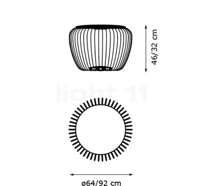 Meridiano 4710 jordi vilardell et meritxell vidal lampadaire floor light  vibia 471062 1  design signed nedgis 80874 product