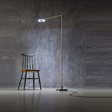 Meta franco zavarise zava meta lampadaire burnished brass luminaire lighting design signed 17496 thumb