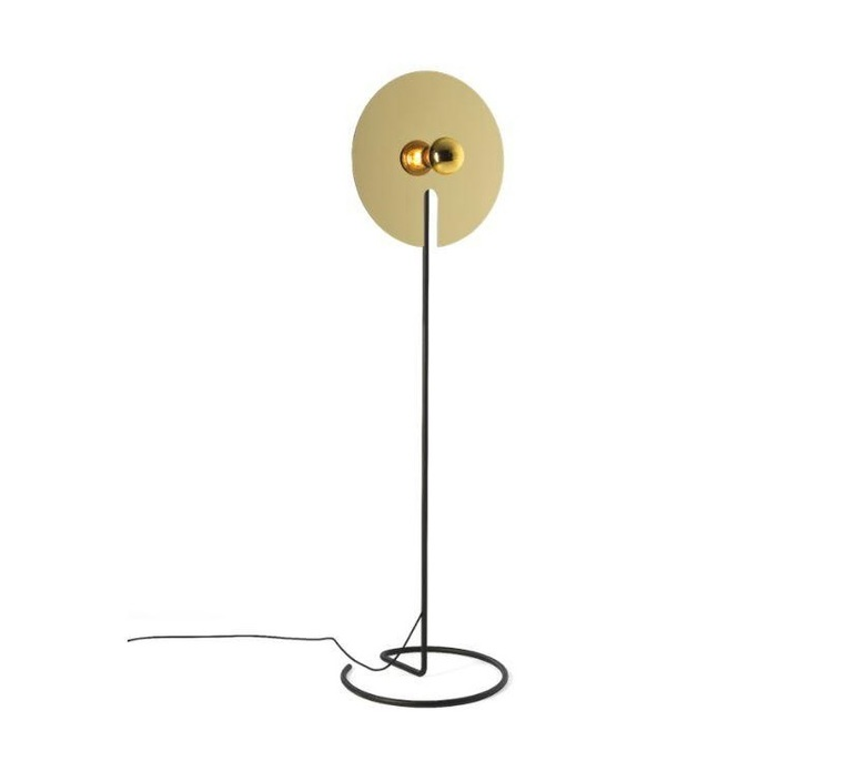 Mirro floor 2 0 13 9 design lampadaire floor light  wever et ducre 6311e8gb0  design signed nedgis 67393 product