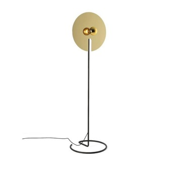 Lampadaire mirro floor 2 0 or o45cm h157 5cm wever ducre normal
