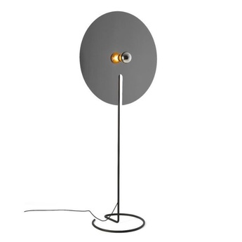 Lampadaire mirro floor 3 0 chrome o45cm h172 5cm wever ducre normal