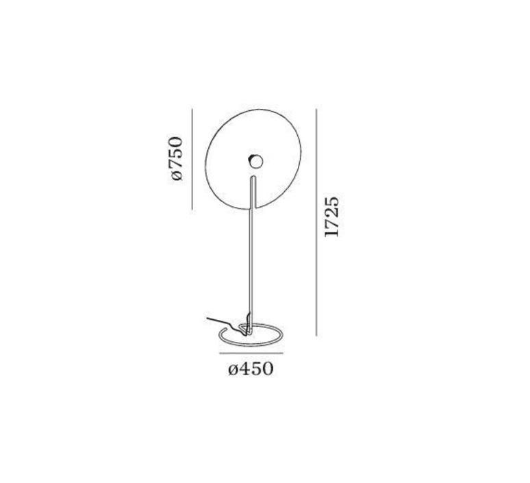 Mirro floor 3 0  lampadaire floor light  wever et ducre 6312e8gb0  design signed nedgis 67400 product