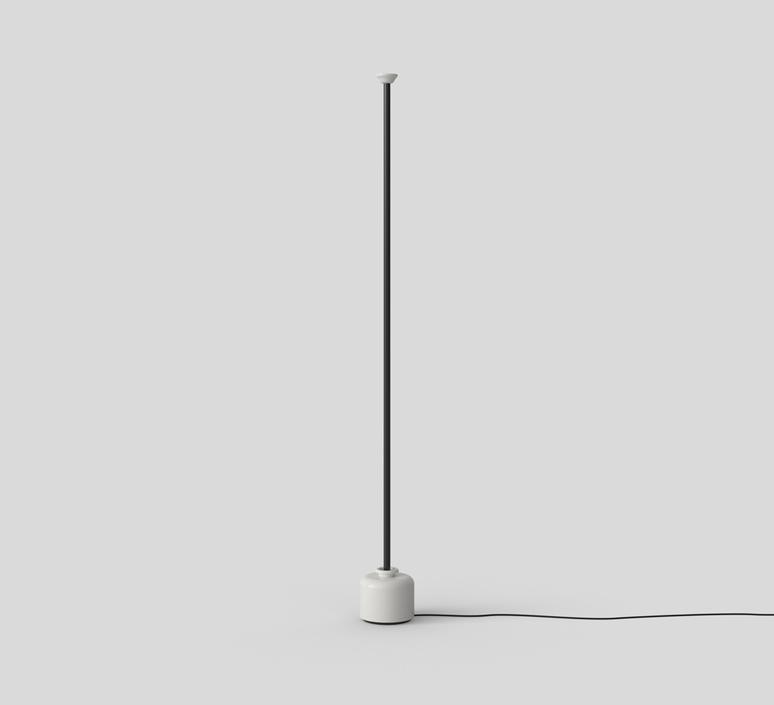 Model 1095 1700 gino sarfatti lampadaire floor light  astep t06 f12 010b  design signed nedgis 78844 product