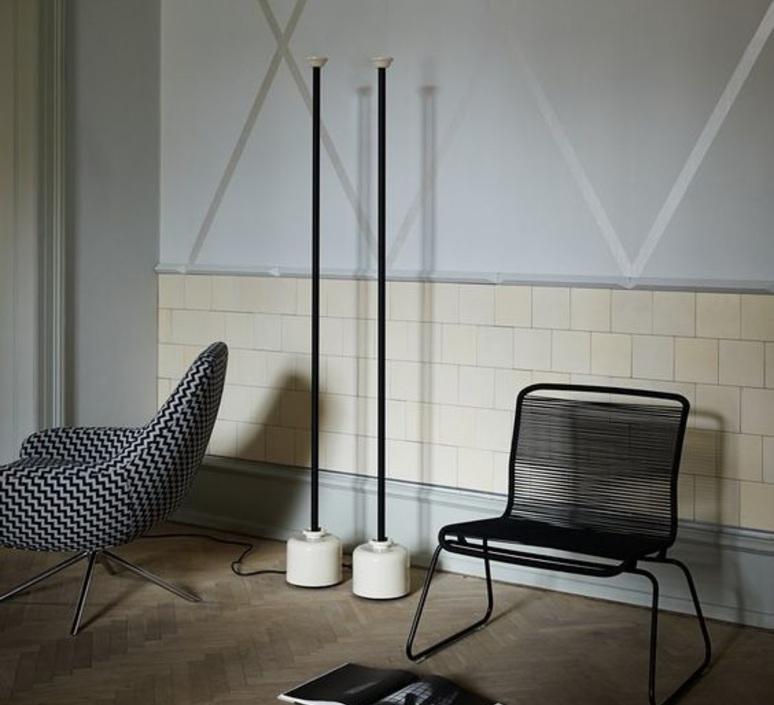 Model 1095 1700 gino sarfatti lampadaire floor light  astep t06 f12 010b  design signed nedgis 78846 product