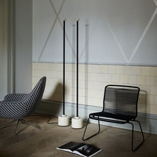 Model 1095 1700 gino sarfatti lampadaire floor light  astep t06 f12 010b  design signed nedgis 78846 thumb