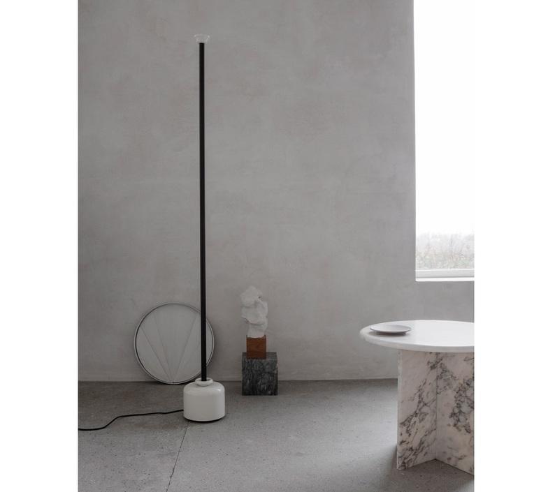 Model 1095 1700 gino sarfatti lampadaire floor light  astep t06 f12 010b  design signed nedgis 78847 product