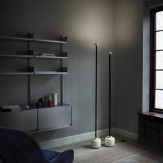 Model 1095 1700 gino sarfatti lampadaire floor light  astep t06 f12 010b  design signed nedgis 78848 thumb