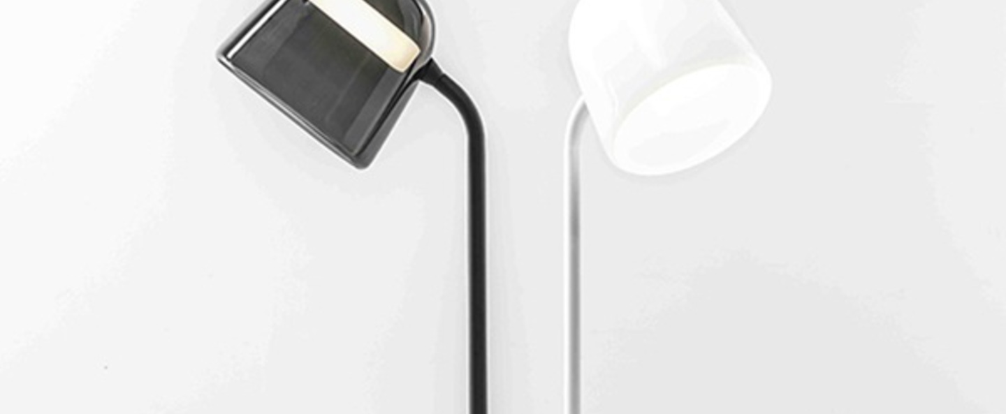 Lampadaire mona medium noir noir led o39cm h143cm brokis normal