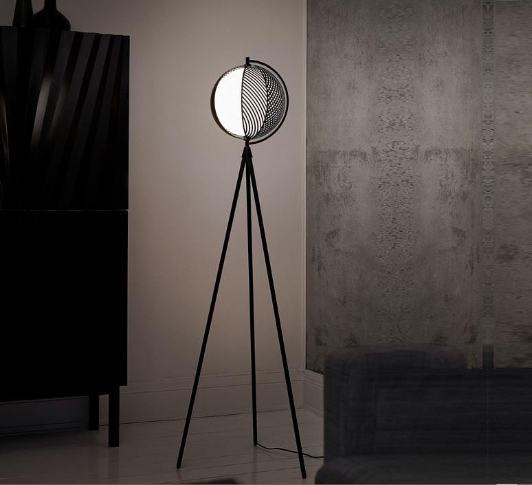 Mondo antonio facco lampadaire floor light  oblure afmo3003  design signed 84516 product