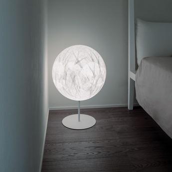 Lampadaire moon f blanc o60cm h85cm davide groppi normal