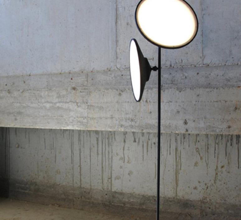 Moons floor lamp nir meiri lampadaire floor light  nir meiri moons floorlampmattblack  design signed 56732 product