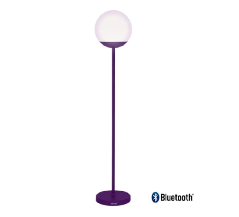 Mooon aubergine tristan lohner lampadaire floor light  fermob 5310 aubergine  design signed nedgis 67771 product