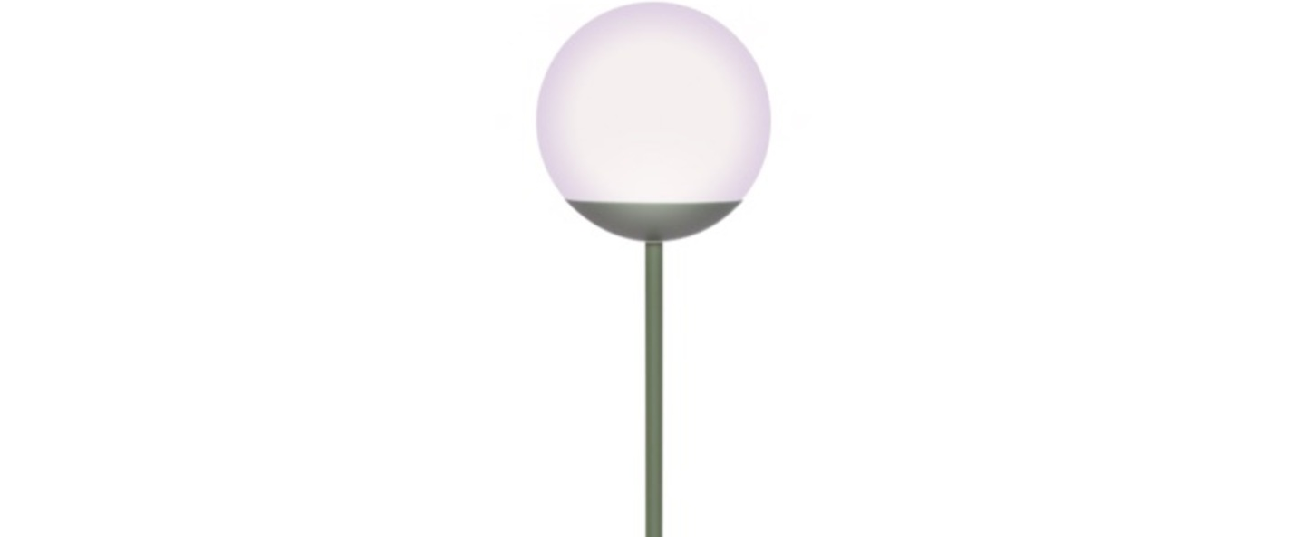 Lampadaire mooon cactus vert led 6000 650 o25cm h134cm fermob normal
