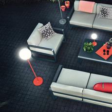 Mooon capucine tristan lohner lampadaire floor light  fermob 5310 capucine  design signed nedgis 67713 thumb