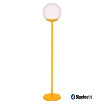 Lampadaire mooon miel jaune led 6000 650 o25cm h134cm fermob normal