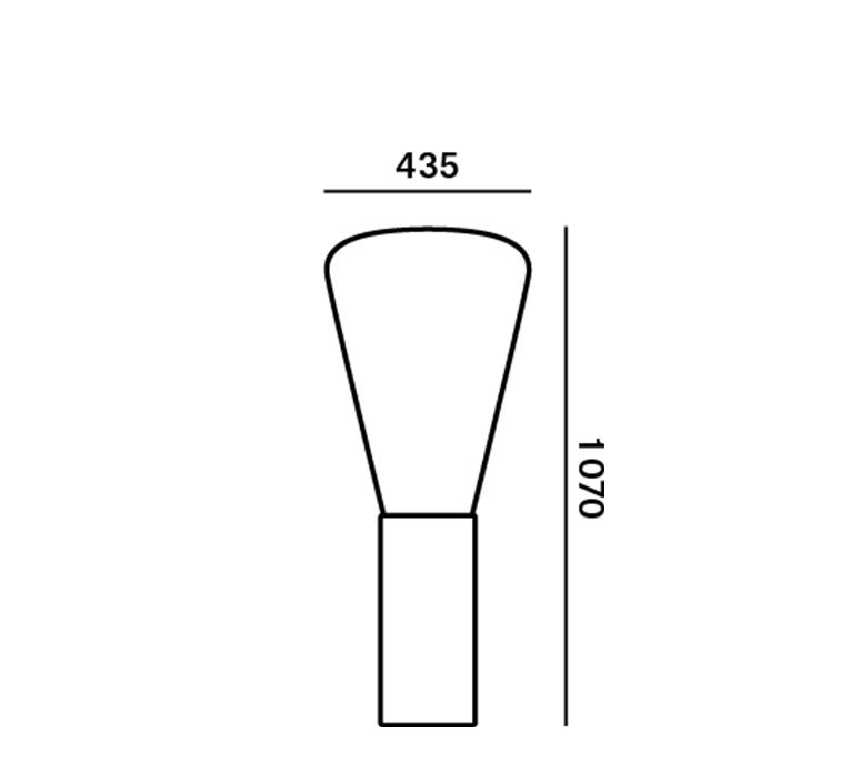 Muffins dan yeffet lampadaire floor light  brokis pc853cgc516ccs592  design signed 111773 product