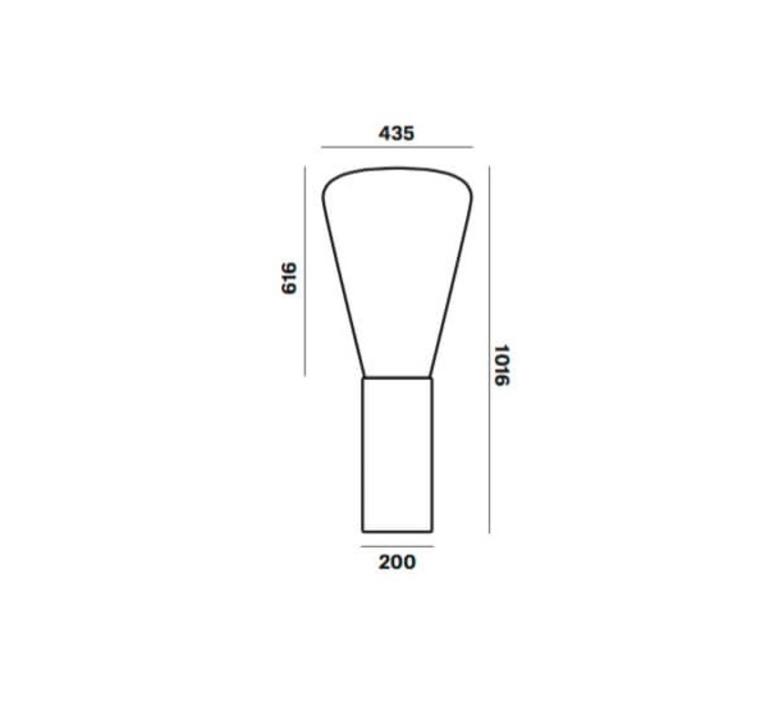 Muffins dan yeffet lampadaire floor light  brokis pc853cgc516ccs592  design signed 33323 product