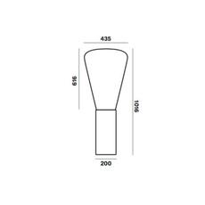 Muffins dan yeffet lampadaire floor light  brokis pc853cgc516ccs592  design signed 70071 thumb