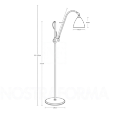 Multi lite bl3 small  lampadaire floor light  gubi 001 03147  design signed 39561 thumb