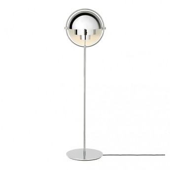 Lampadaire multi lite chrome o36cm h148cm gubi normal