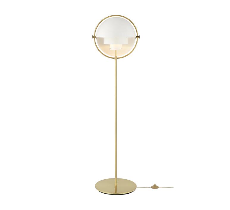 Multi lite louis weisdorf lampadaire floor light  gubi 10062678  design signed nedgis 98971 product