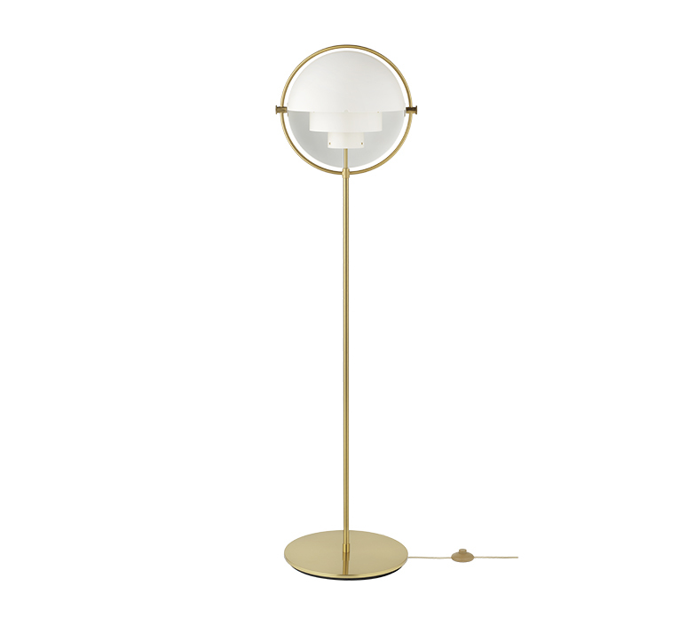 Multi lite louis weisdorf lampadaire floor light  gubi 10062678  design signed nedgis 98972 product