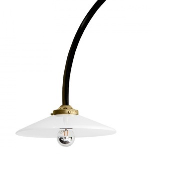 Lampadaire n 1 noir l83 6cm h190cm valerie objects normal
