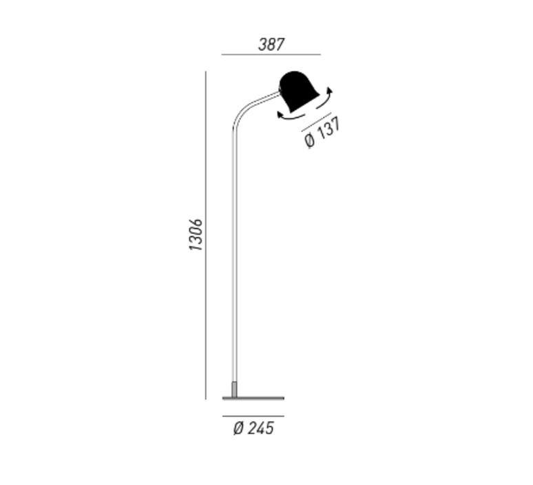 Narciso dario gaudio  lampadaire floor light  torremato g4b1  design signed 52081 product
