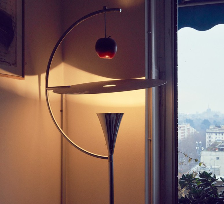 Newton andrea branzi lampadaire floor light  nemo lighting new lhw 21  design signed nedgis 69086 product