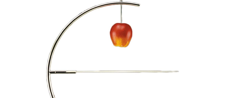 Lampadaire newton noir et blanc led 2700k 1150lm p45 5cm h200cm nemo lighting normal