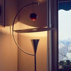Newton andrea branzi lampadaire floor light  nemo lighting new lnw 21  design signed nedgis 69081 thumb