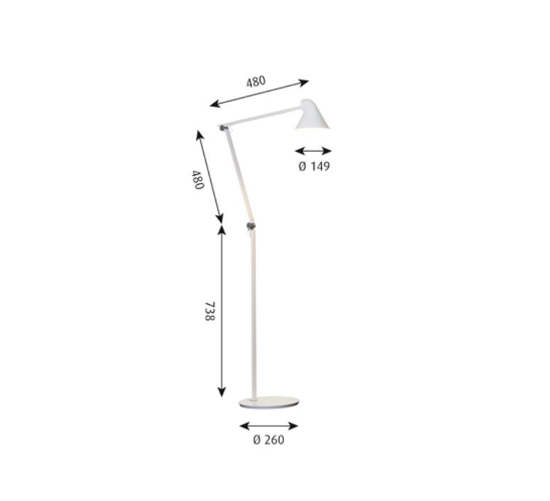 Njp studio nendo lampadaire floor light  louis poulsen 5744165141  design signed 49193 product