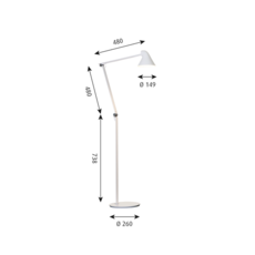 Njp studio nendo lampadaire floor light  louis poulsen 5744165141  design signed 49193 thumb