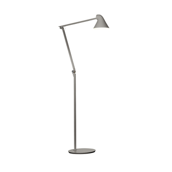 Lampadaire njp gris clair led l121cm h48cm louis poulsen normal