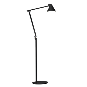 Lampadaire njp noir led l121cm h48cm louis poulsen normal