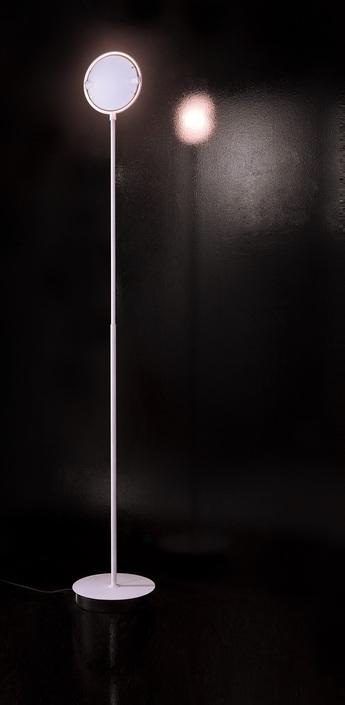 Lampadaire nobi blanc h190cm fontana arte normal