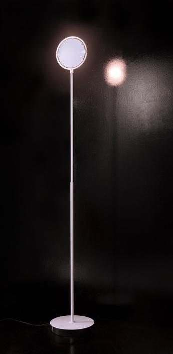 Lampadaire nobi blanc h205cm fontana arte normal