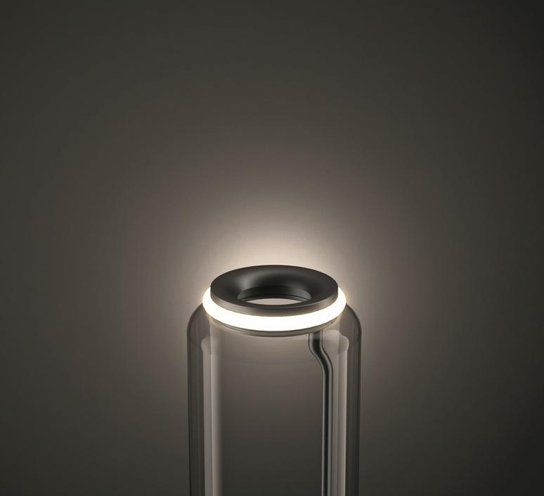 Noctambules floor 4 cylindres hauts grande base  konstantin grcic lampadaire floor light  flos f0292000  design signed nedgis 96577 product