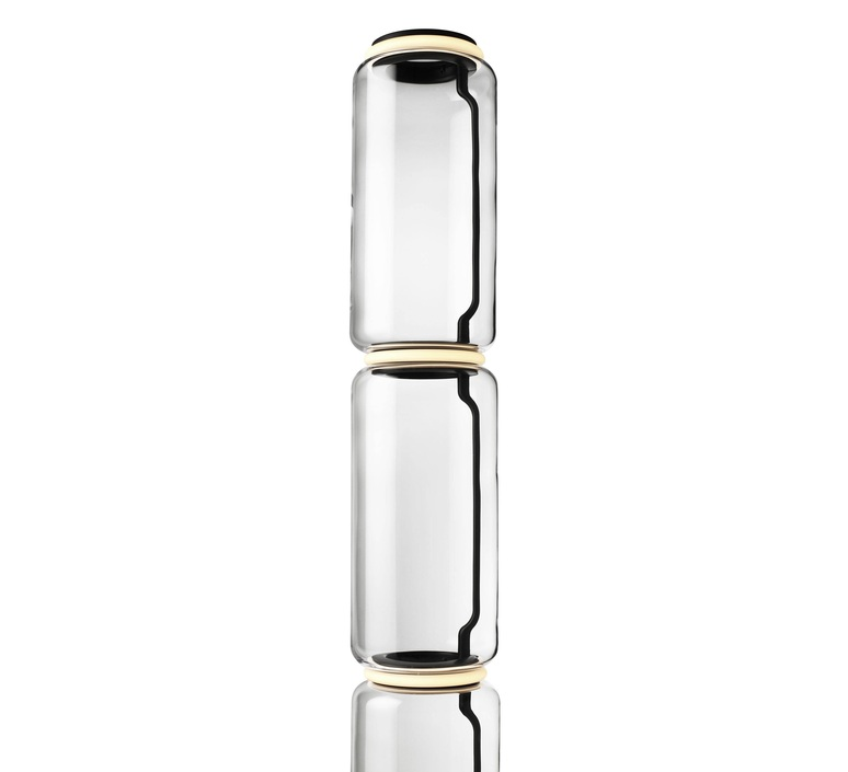 Noctambules floor 4 cylindres hauts grande base  konstantin grcic lampadaire floor light  flos f0292000  design signed nedgis 96578 product