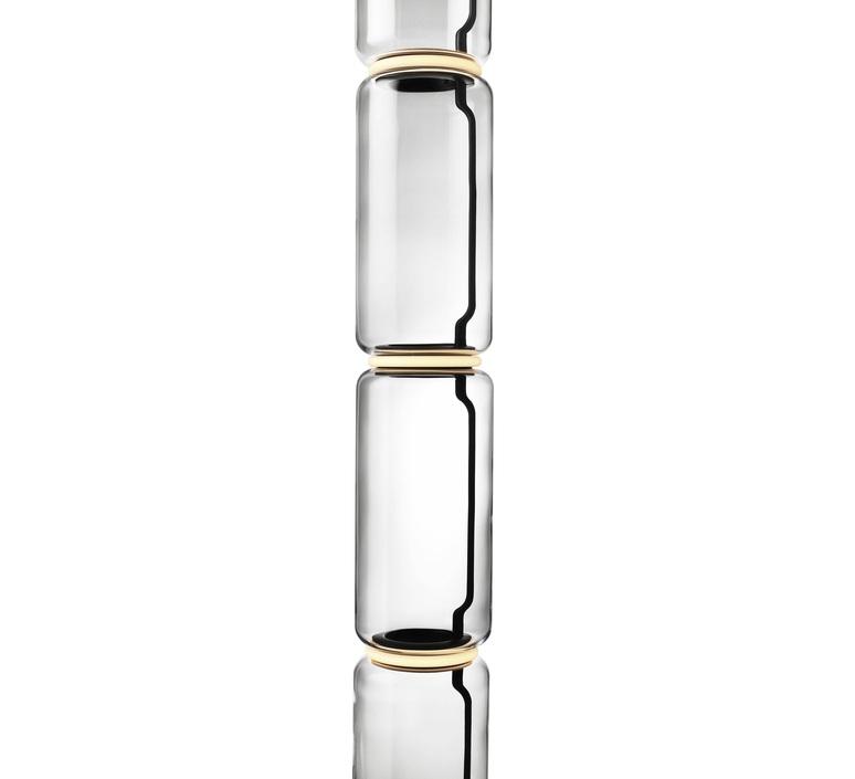 Noctambules floor 4 cylindres hauts grande base  konstantin grcic lampadaire floor light  flos f0292000  design signed nedgis 96579 product