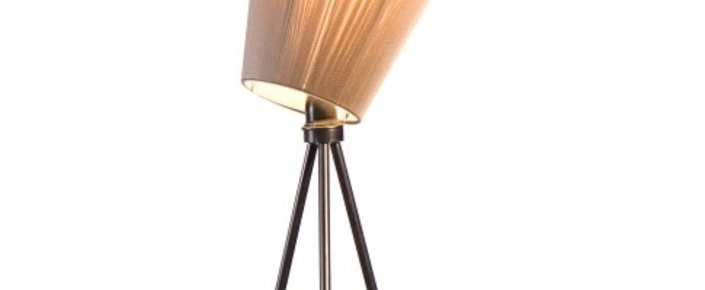 Lampadaire olso wood beige noir h165cm northern lighting normal