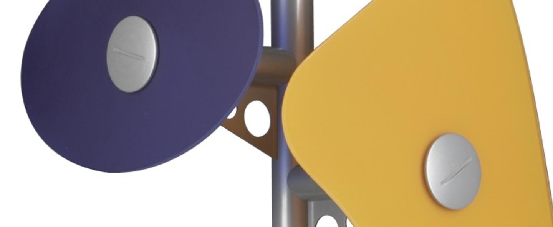 Lampadaire orbital multicolore o53cm h170cm foscarini normal