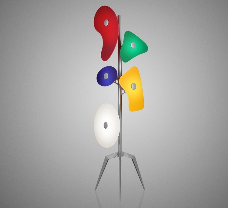 Orbital ferruccio laviani lampadaire floor light  foscarini 36003  design signed nedgis 91468 product